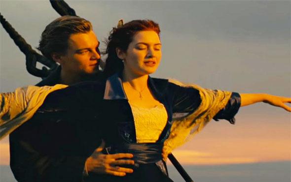 Dünyaca ünlü 'Titanic' filminde akıl almaz hata dilden dile!
