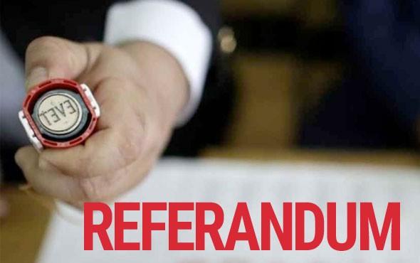 15 referandum anketi sonuçları! Evet mi hayır mı önde?