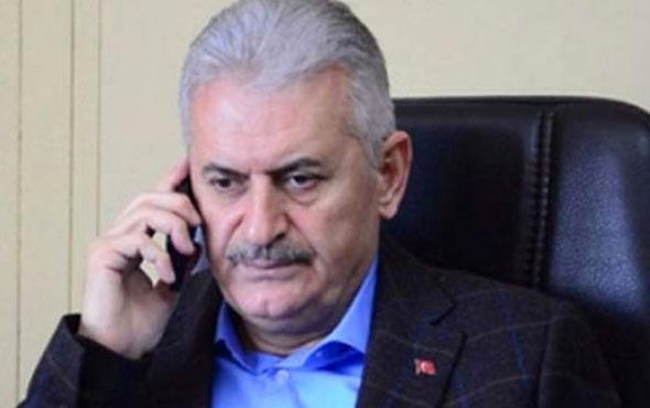 Başbakan Yıldırım'dan Halisdemir ailesine taziye telefonu