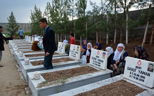 """PKK'nın katlettiği köylüler için """"anıt mezar"""