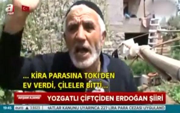 Eyüp Amca'dan Erdoğan şiiri