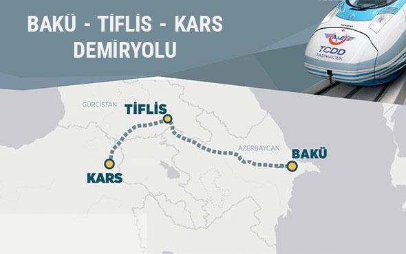 Bakü-Tiflis-Kars Demiryolu dünyanın izlediği proje