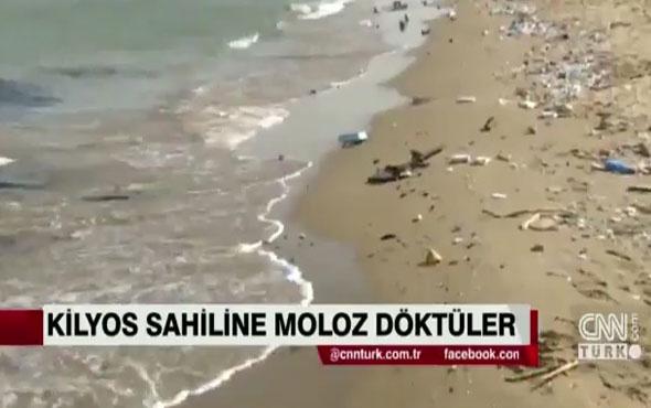 İstanbul'un ünlü plajını görenler dehşete düştü