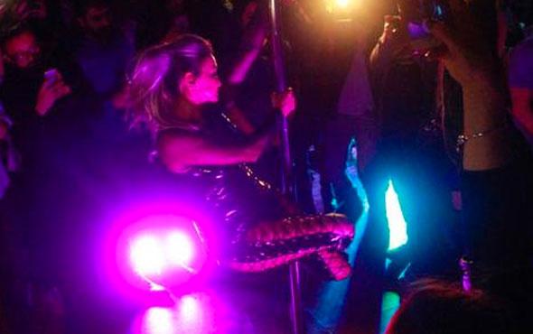 Yonca'dan 40.yıla özel direk dansı