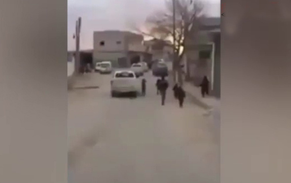 Türk askerleri El Bab sokaklarını mehter marşıyla inletti