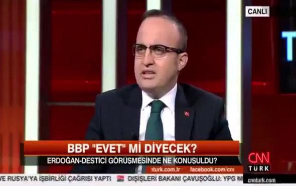 Bülent Turan: Diktatörlük olsaydı CHP buna 'evet' derdi