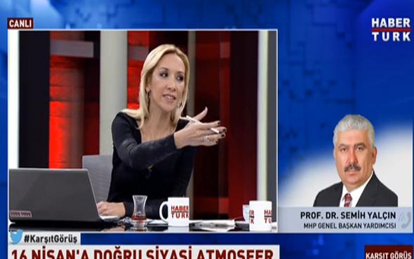 Semih Yalçın'dan Balçiçek İlter'e tepki