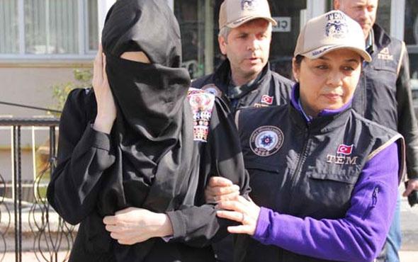 FETÖ'den tutuklu babasını ziyarete gitti bakın neyle yakalandı