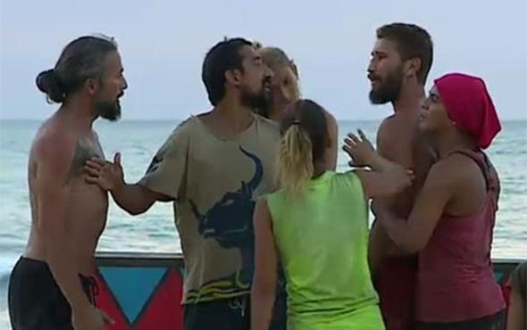 Survivor'da İlhan-Adem kavgasının şok görüntüleri!