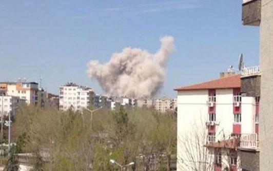 Diyarbakır'da patlama ilk görüntüler