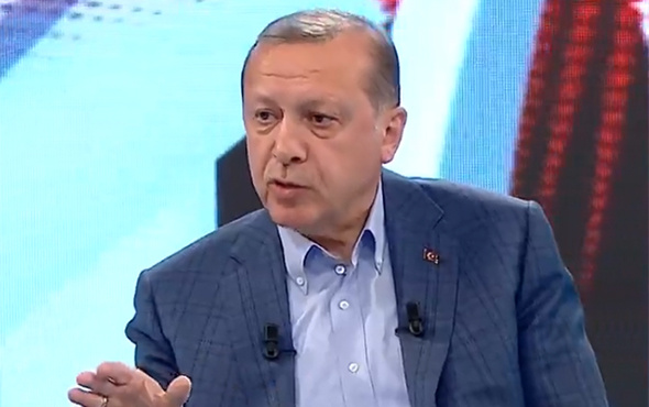 Cumhurbaşkanı Erdoğan'ı gülümseten soru