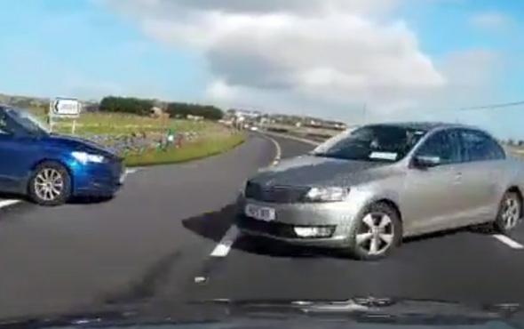 Dikkatsiz sürücü feci bir kazaya yol açtı