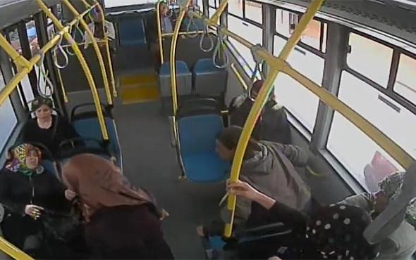 Fenalaşan yolcuyu hastaneye kadın otobüs şoförü yetiştirdi