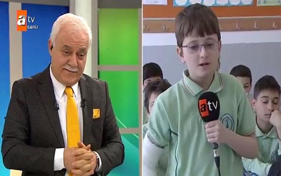 Nihat Hatipoğlu'nu canlı yayında şaşırtan soru
