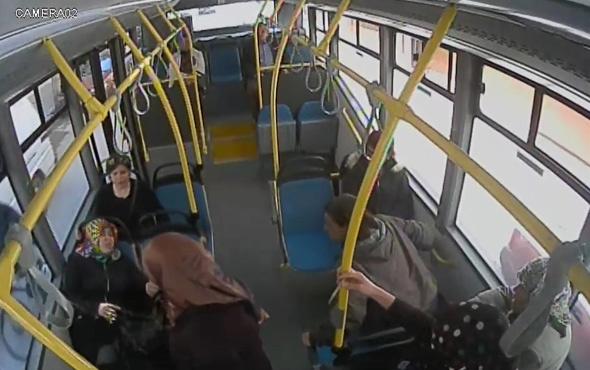 Kadın şoför, rahatsızlanan yolcuyu hastaneye yetiştirdi