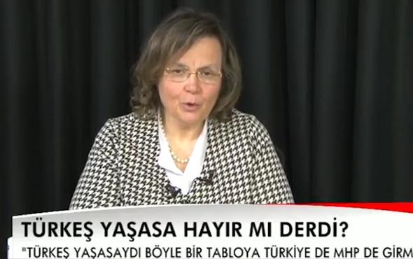 Türkeş'in eşi Seval Türkeş referandum kararını açıkladı