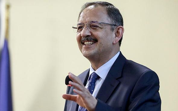 Bakan Özhaseki'den eyalet açıklaması