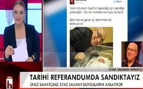 Halk TV'de İlyas Salman seçim yasağını ihlal etti!