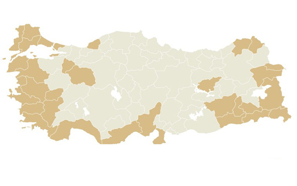 Büyük illerde referandum sonuçları