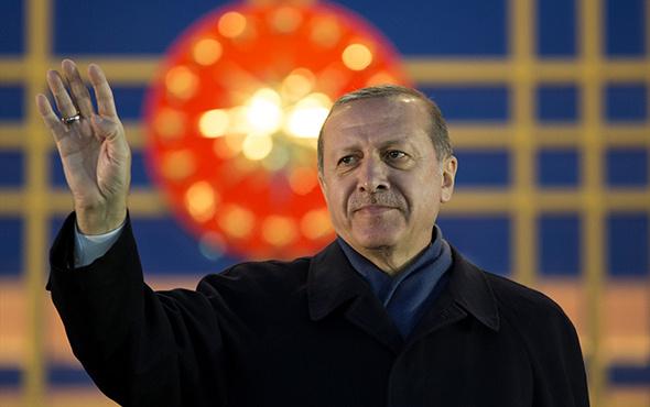 Cumhurbaşkanı Erdoğan ve vatandaşlardan İstiklal Marşı