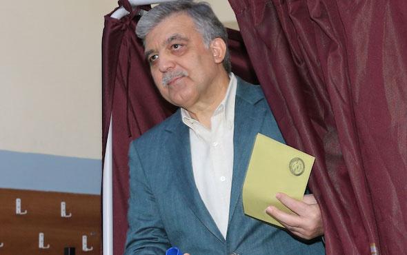 Abdullah Gül kayıplara karıştı tebrik bile etmedi!