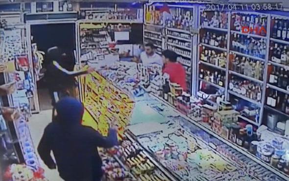 Şişli'de organize silahlı soygun