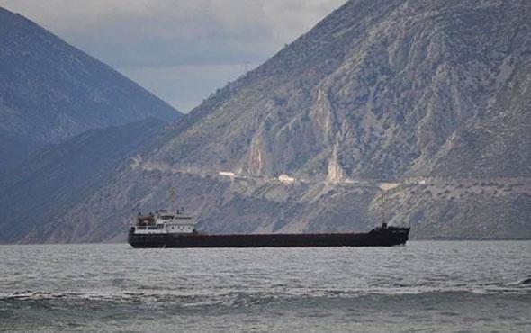 Türkiye'ye gelen Rus gemisi battı