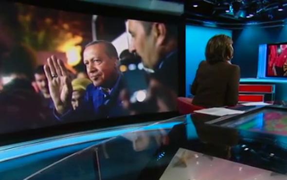 Erdoğan'ın danışmanı CNN'in efsane ismini sus pus etti!
