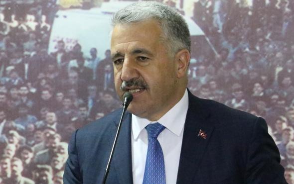 Bakan Arslan: Referandumdan 'evet' çıkarsa