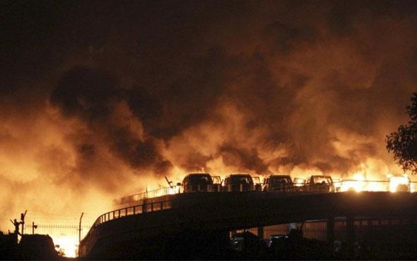 Çin'de patlama! Ölü ve yaralılar var