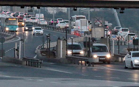 İstanbul'da köprü çilesine dikkat! Gişe işi uzun sürecek