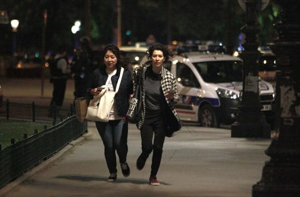Paris saldırısından ilk görüntüler