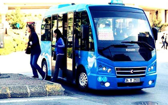 Minibüslerde yeni dönem başlıyor artık 7 gün 24 saat...