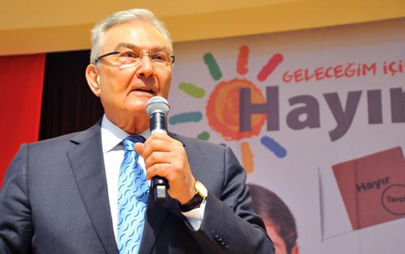 Deniz Baykal'dan demokrasi karşıtı skandal ima