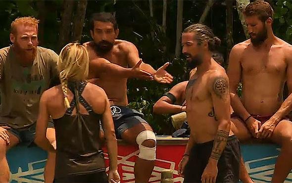 Serhat ve Sema; Survivor ödül oyunu sırasında gerildi!