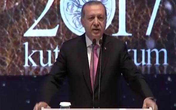 Erdoğan: Zalimlere sesimizi yükselttiğimiz için diktatör diyorlar