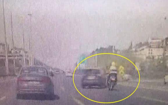 FSM çıkışındaki kazadan yeni görüntüler