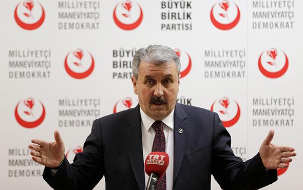 Destici'den AKPM'deki HDP'li vekillere: 'Vatan hainlikleri tescillendi'