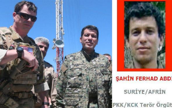 ABD'li komutan PKK'lı ile basıldı! Toner AA sorusuna delirdi