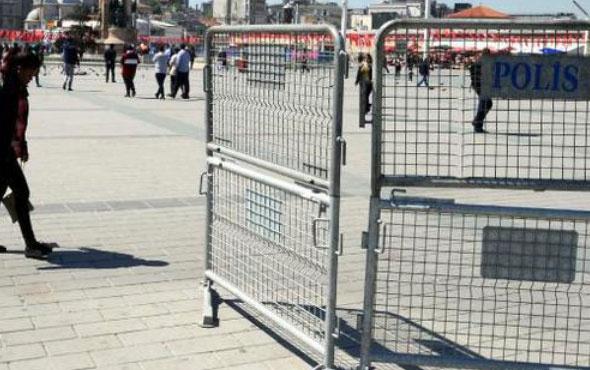 Taksim'de son durum böyle kamyon kamyon geliyor