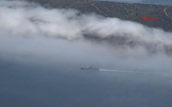Karadeniz'de gemi kazası!