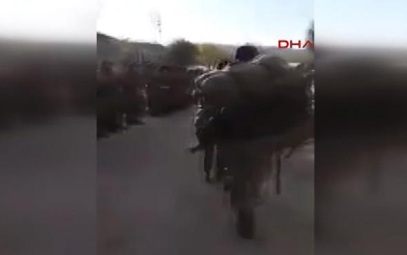 Operasyondan dönen askerler Mehter Marşı ile karşılandı
