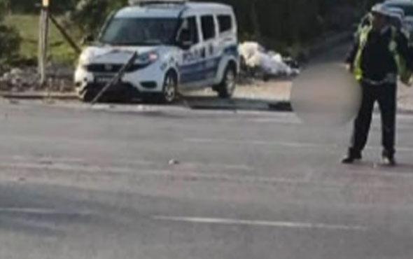 Mersin'de polis aracına bombalı saldırı! Yaralılar var