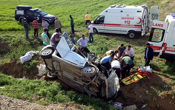 Elazığ'da trafik kazası: 2 ölü, 3 yaralı