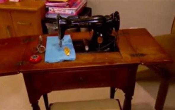 Miras kalan dikiş makinesi milyoner yaptı