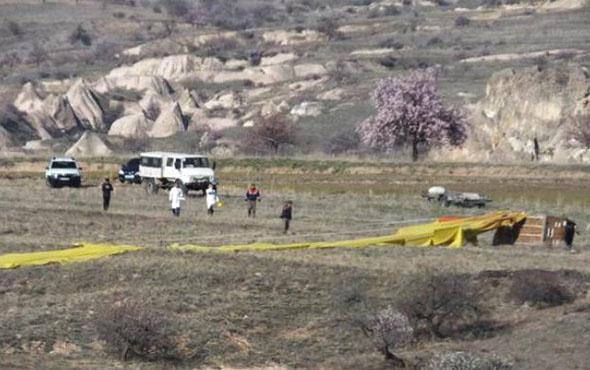 Kapadokya 'da balon kazası; 1ölü, 20 yaralı