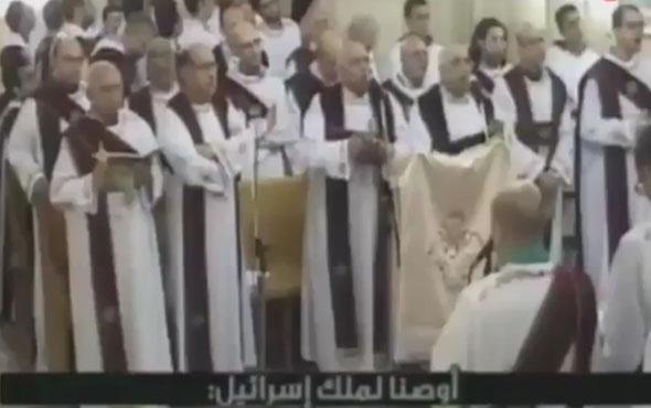 Mısır'da kilisede patlama anı! Dehşet görüntüler