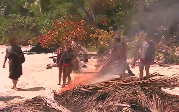 Survivor Gönüllüler adasında büyük yangın!
