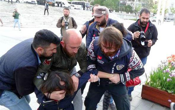 Taksim'de gözaltılar var! Tüm güvenlik önlemlerine rağmen...