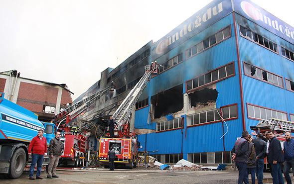 Trabzon'da dev yangın: Zarar 50 milyon lira!